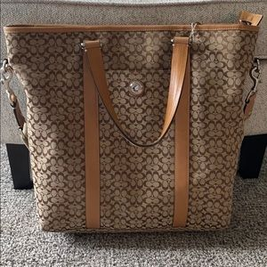 Coach authentic work bag